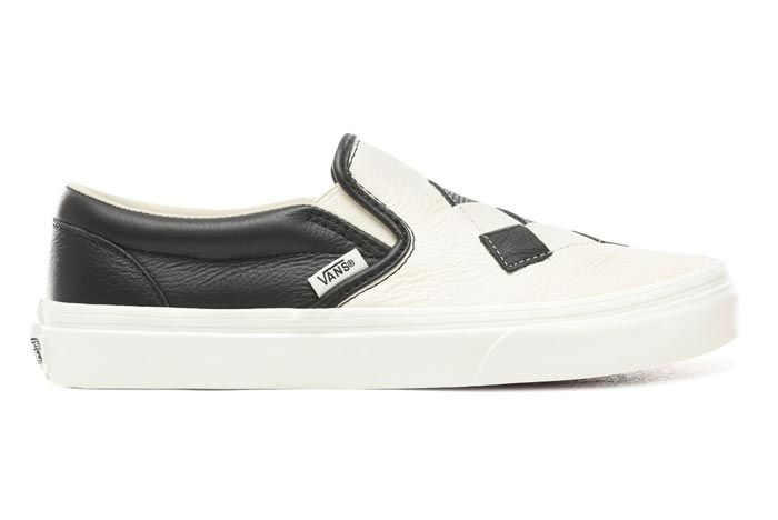 Vans Slip On Woven Checkerboard Lateral