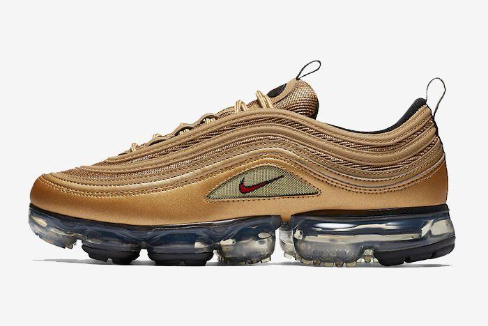 Nike Air Vapormax 97 Metallic Gold 2