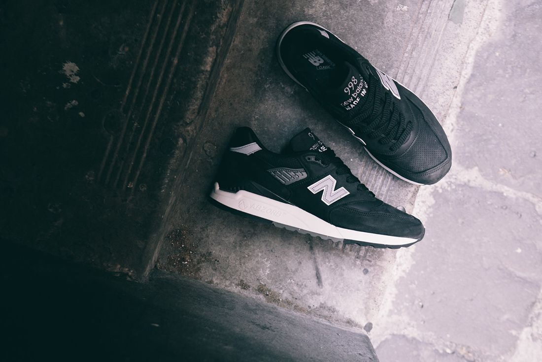 New Balance M998 Dpho Made In Usa Black