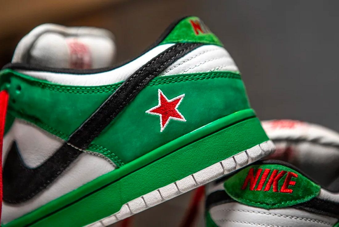 Nike SB Dunk Low Heineken