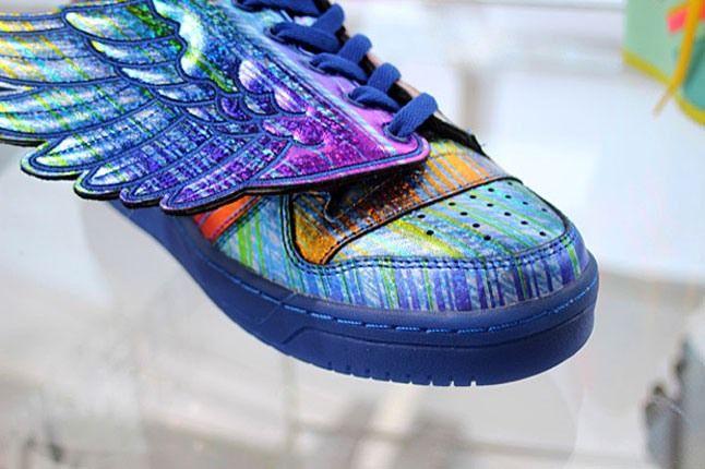 Adidas Jeremy Scott Rainbow Holograph 2 1
