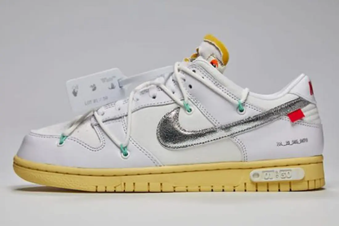 Off White Nike The 50 Dunk