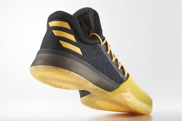 Adidas Harden Vol 1 Black Yellow 4