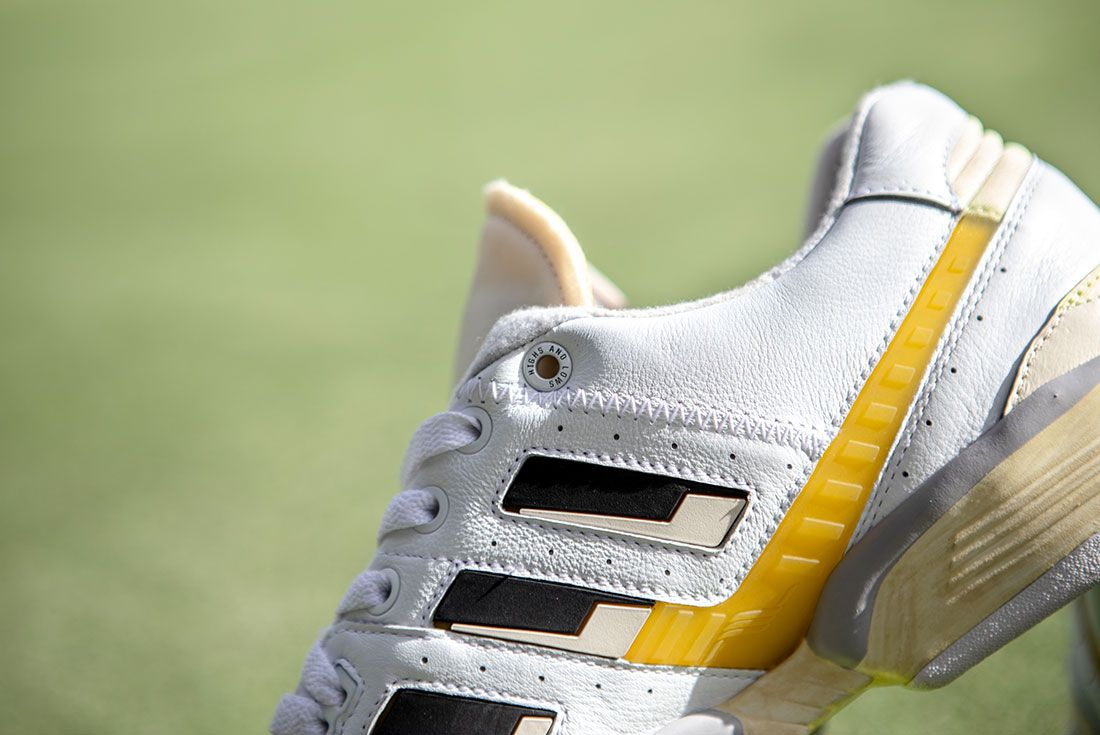 Highs And Lows Adidas Consortium Torsion Edberg Comp Release Date Sneaker Freaker Lateral Closeup Grass