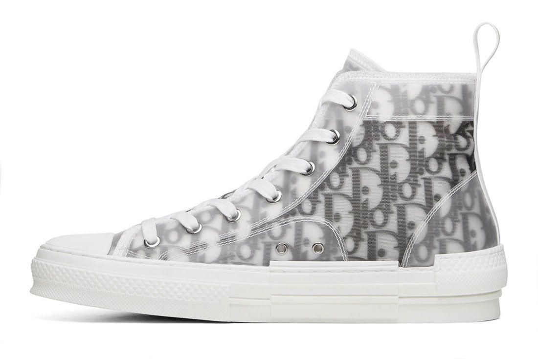 Kim Jones Dior B23 Oblique Sneakerboy Raffle Left Side Shot1