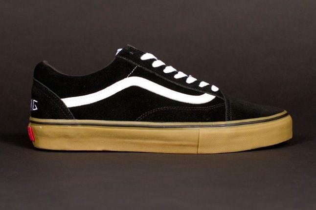 Odd Future Vans Syndicate Oldskool Pro Black Profile 1
