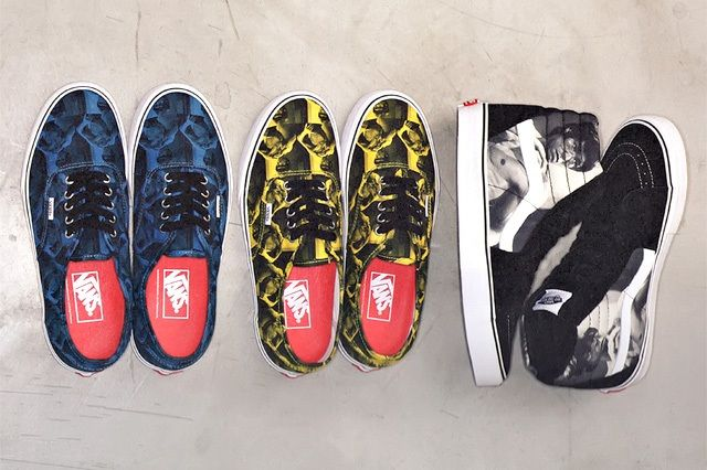 Supreme Vans Sk8 Hi Authentic Bruce Lee Pack