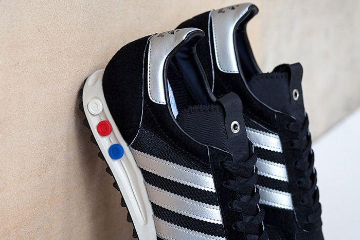 Adidas Consortium La Trainer Og Navy Silver 1