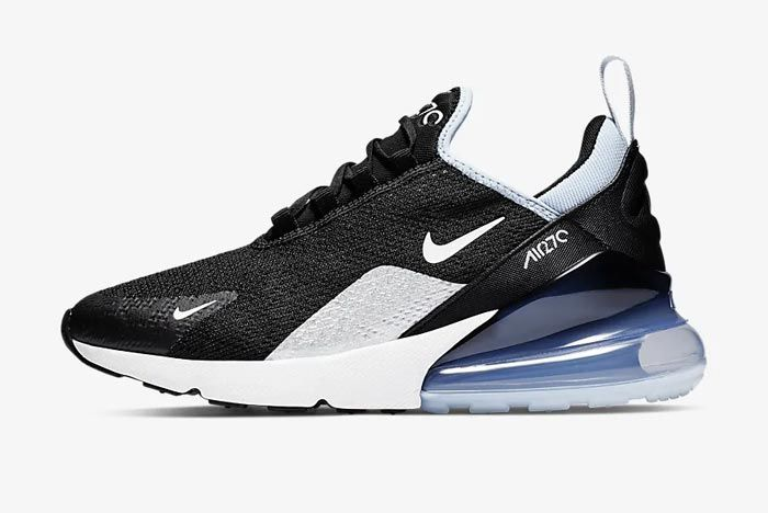 Nike Air Max 270 Aluminum Ah6789 009 Lateral