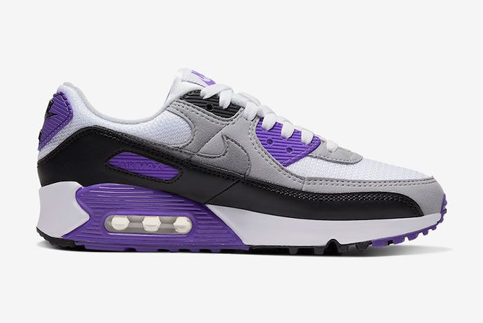 Nike Air Max 90 Hyper Grape Cd0490 103 Medial