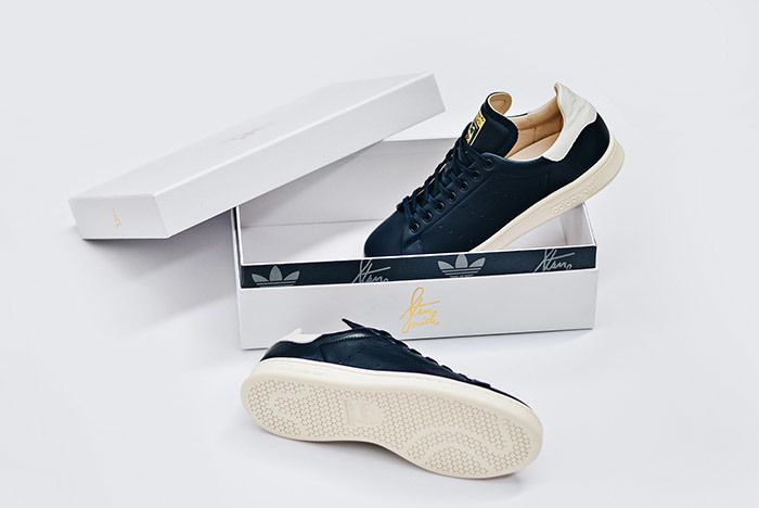 Adidas Stan Smith Leather Reconstructed White Black 4