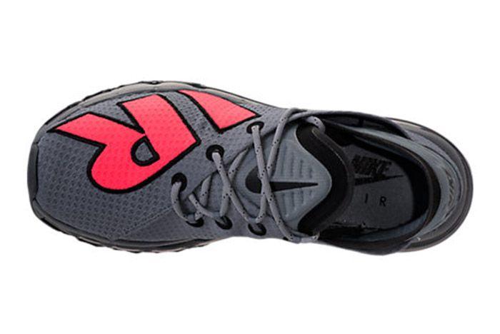 Nike Air Max Flair Cool Grey Solar Red 2