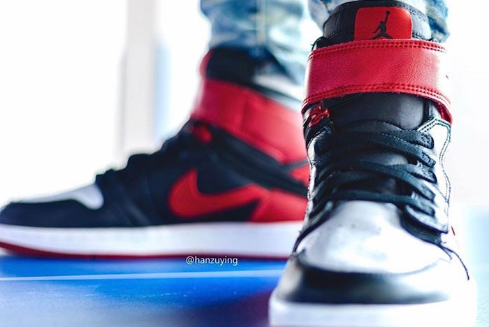 Air Jordan 1 Fly Ease Gym Red Cq3835 001 Release Date 3On Foot