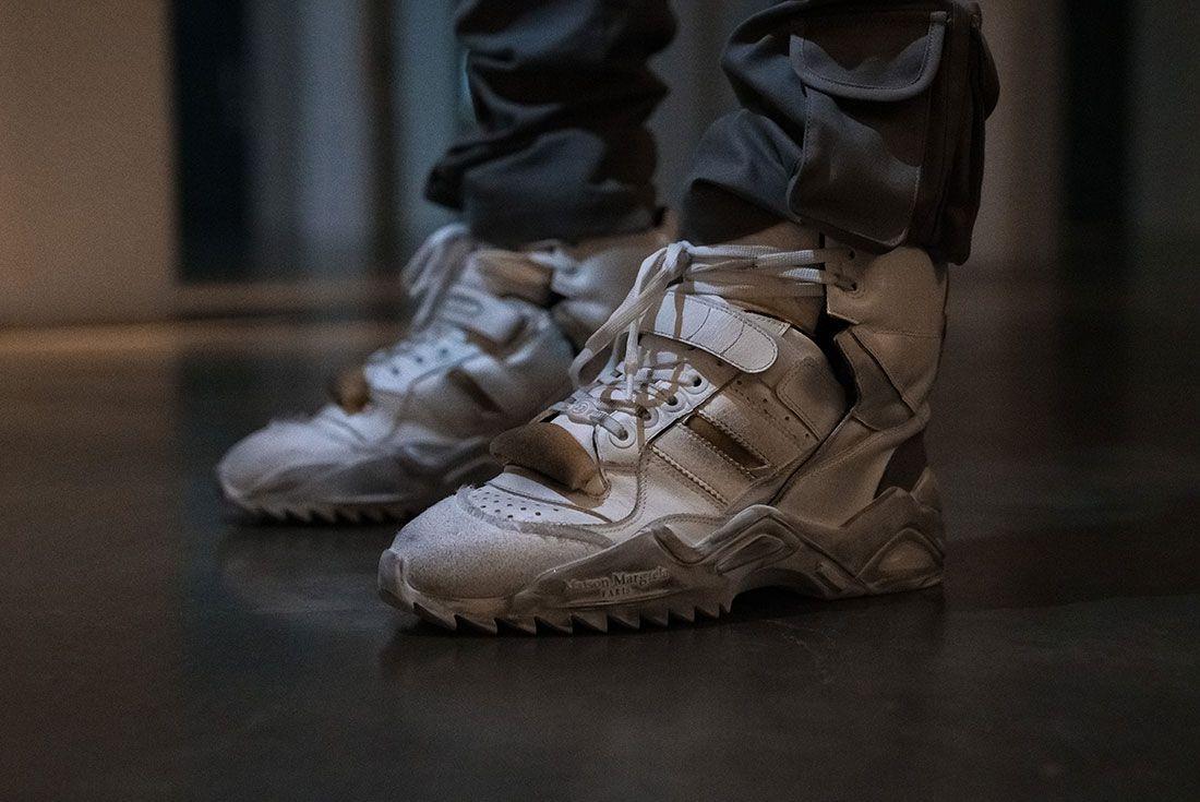London Fashion Week Mens On Foot Sneaker Freaker Pics6