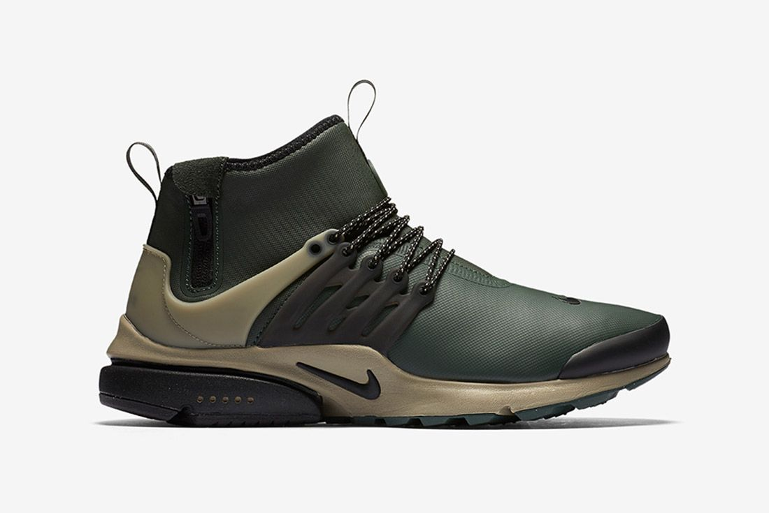 Nike Air Presto Utility Mid Grove Green 5