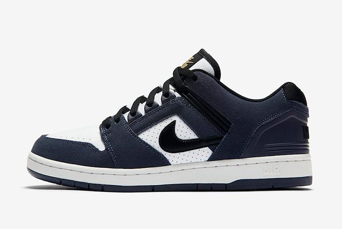 Nike Sb Air Force 2 Low Ao0300 400 Left Side Shot