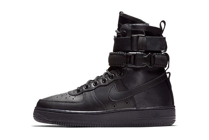 Nike Sf Af1 High Triple Black 2