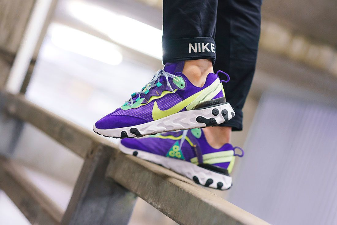 Bespoke Ind Nike React Element 87 Acg On Foot 5