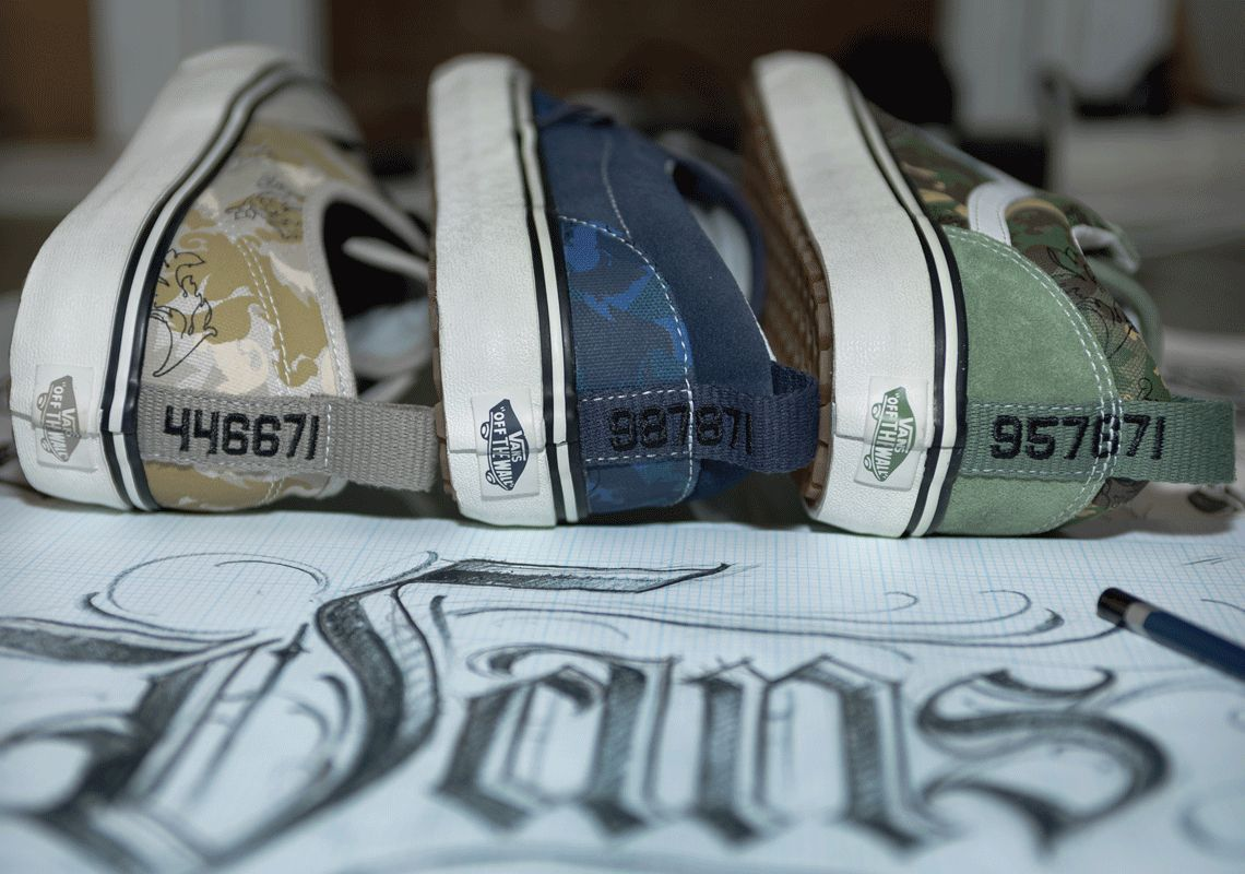BJ Betts x Vans