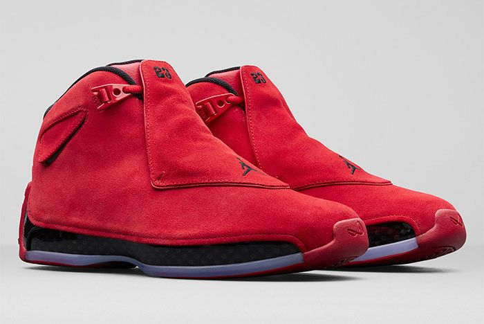 Air Jordan 18 Red Suede