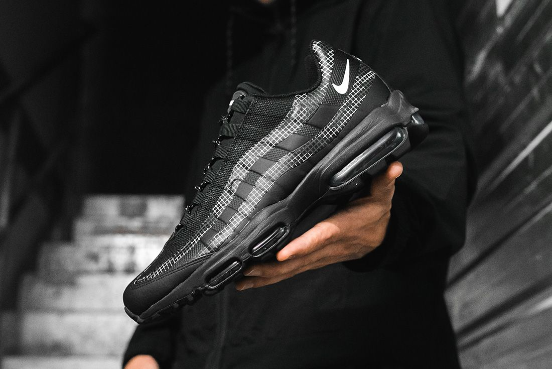 The Nike Air Max 95 Ultra Gets a Gnarly Grid Pattern - Sneaker Freaker