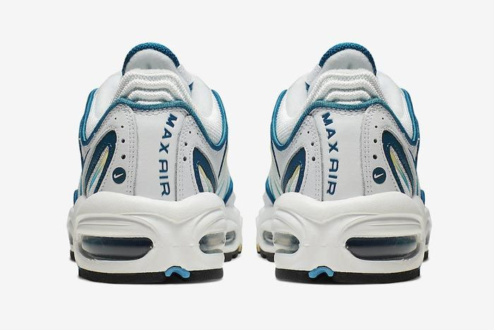 Nike Air Max Tailwind 4 Green Abyss Electric Green Heels