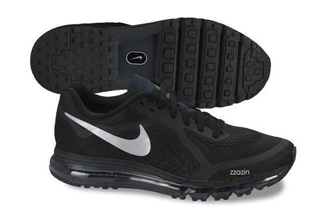 Nike Air Max 2014 Grey Black 1