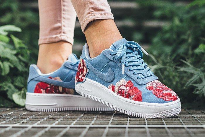 Nike Air Force 1 Upstep Floral 3