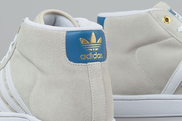 Adidas Pro Model Richard White White St Stonewash 3