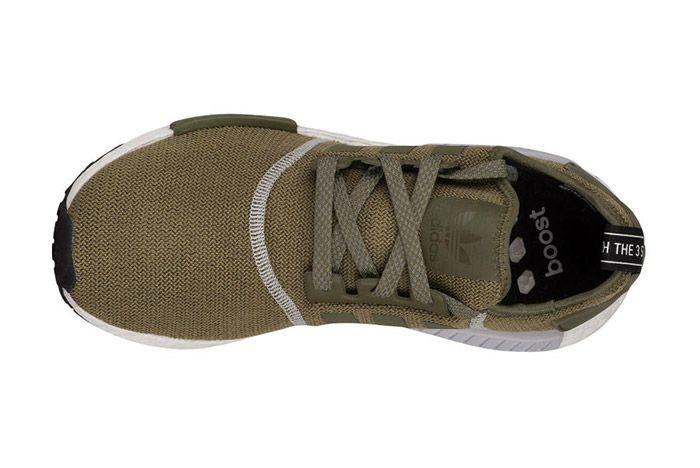 Adidas Nmd R1 Olive Green 1