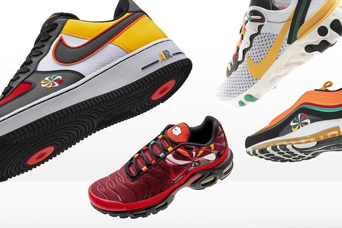 Nike Sunburst Pack Group Shot