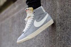 Nike Blazer Mid Vintage Wolf Grey Sail Thumb