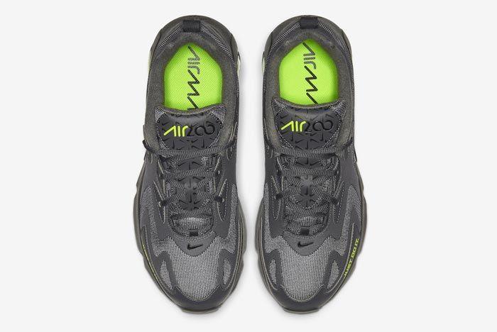 Nike Air Max 200 Dark Grey Volt Top