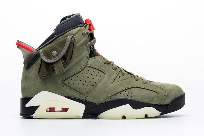 Travis Scott Air Jordan6 Right