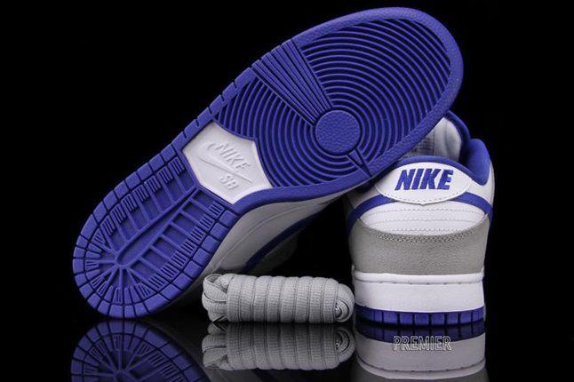 Nike Sb Dunk Low Matte Silver Royal 06 1