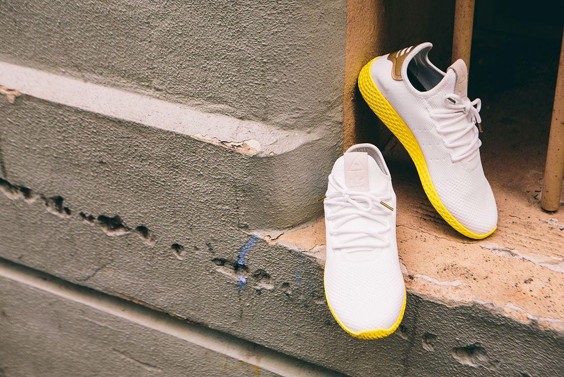 Pharrell Williams X Adidas Tennis Hu Gold9