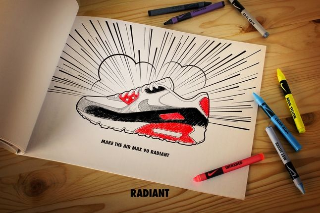 Nike Matt Stevens Airmax 90 Radiant 1