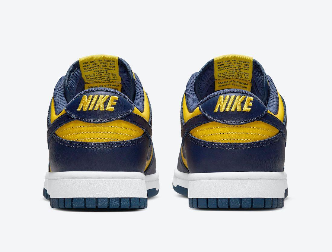 Nike Dunk Low 'Michigan'