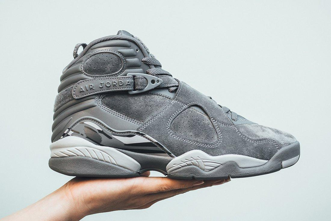 Air Jordan 8 Cool Grey 1 1