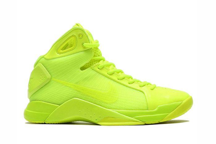 Nike Hyperdunk 2008 Retro Neon Pack Volt 5