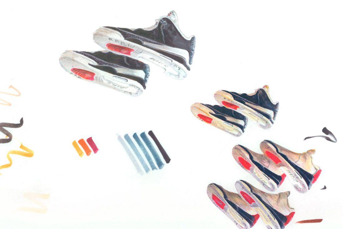 Material Matters Jordan Brand Jordan 3 Concept Sketch 1