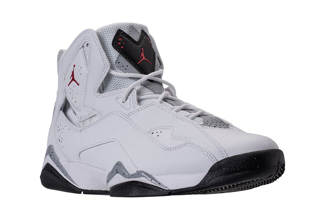 Jordan True Flight Channels ' White Cement' Vibes4