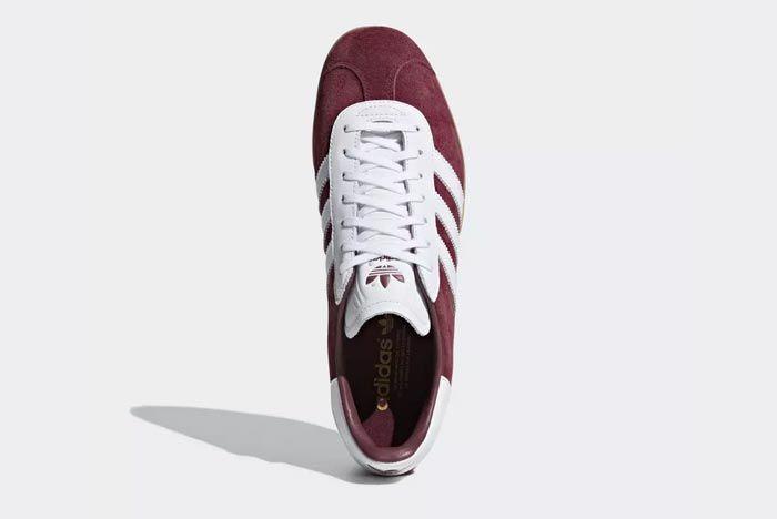 Adidas Gazelle Collegiate Burgandy 5