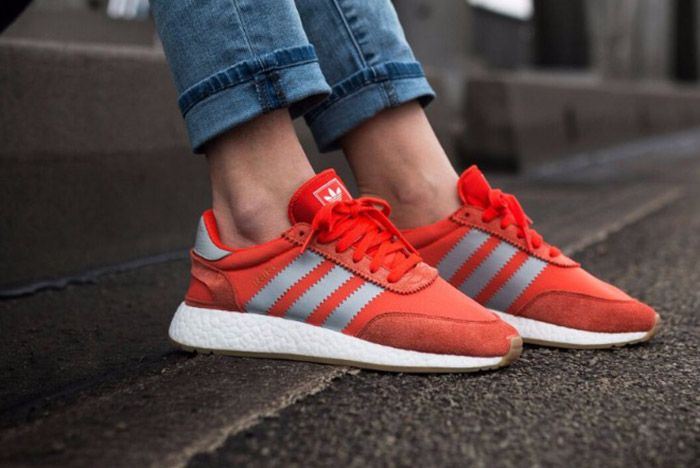 Adidas Iniki Runner Womens Energy Red 3