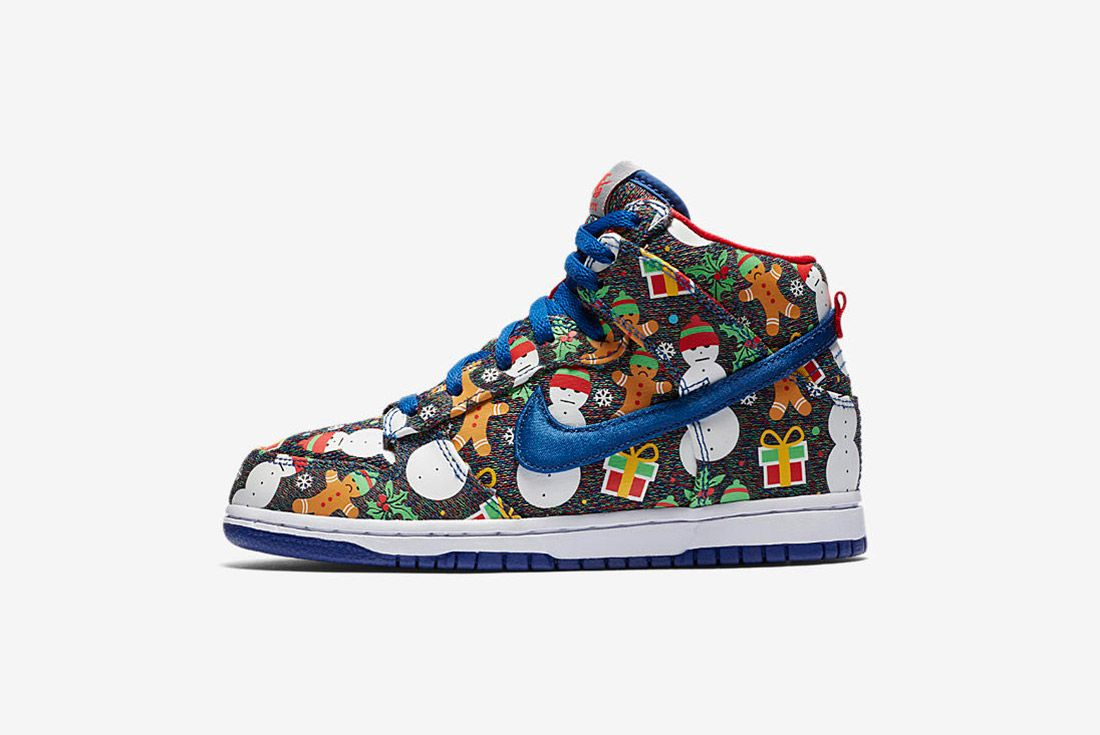 Conceptsnike Sb Ugly Christmas Sweater Dunk 7