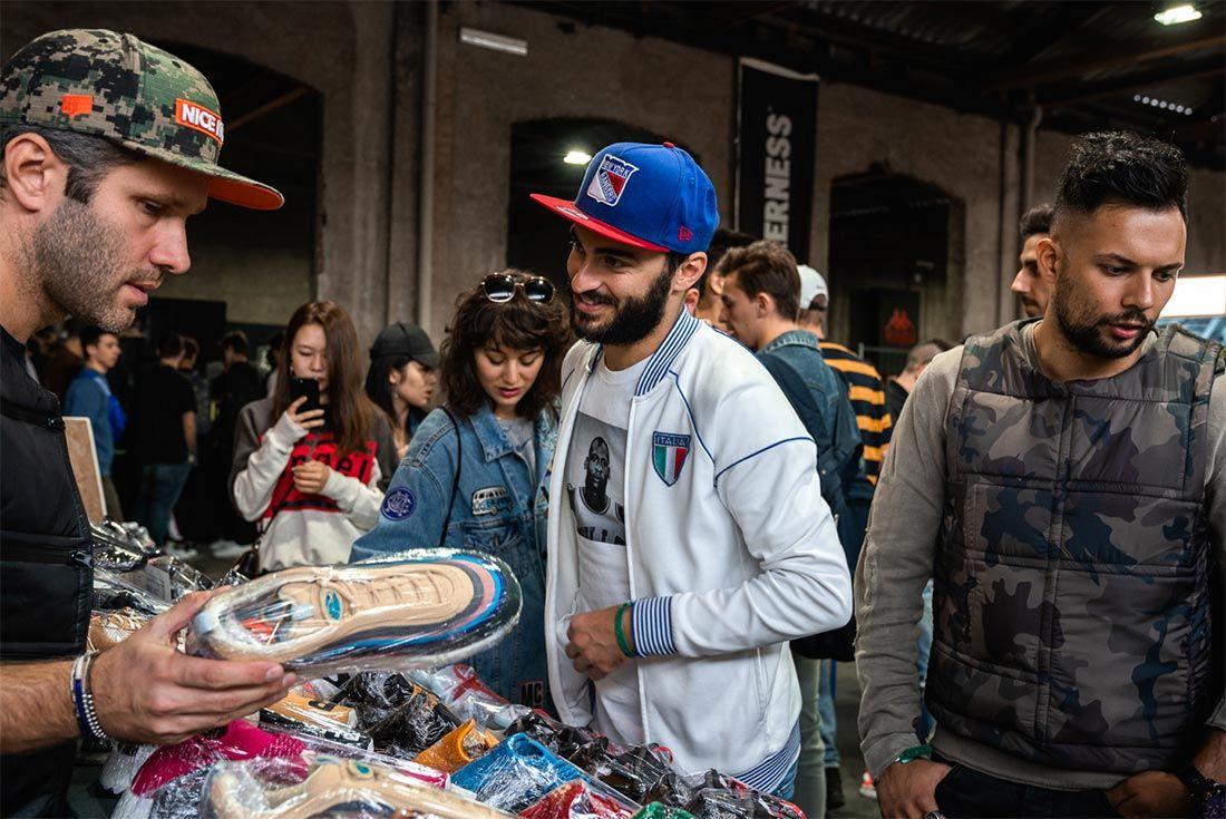 Sneakerness Milan 2018 Bartering