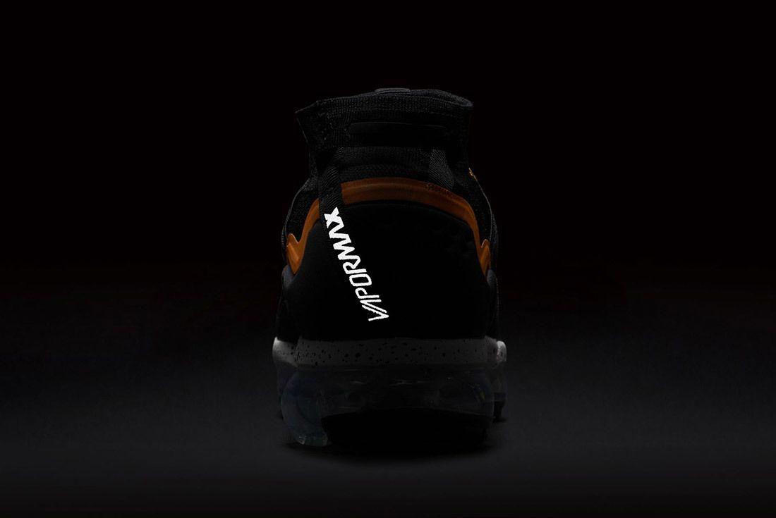 Nike Air Vapormax Utility Black Orange 1