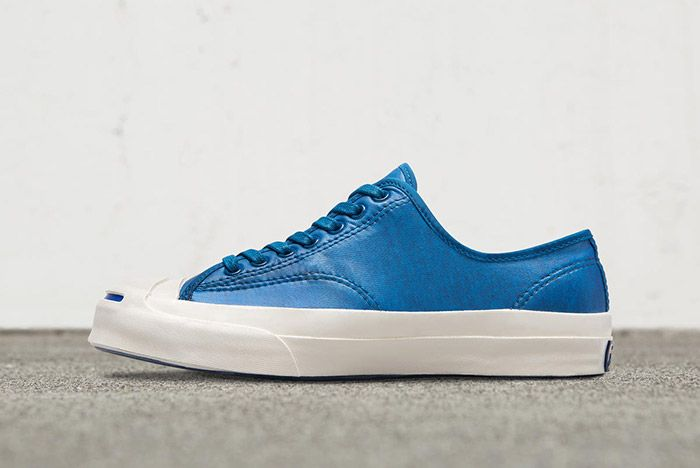 Converse Jack Purcell Signiature Low Top Coated Terry Blue 2