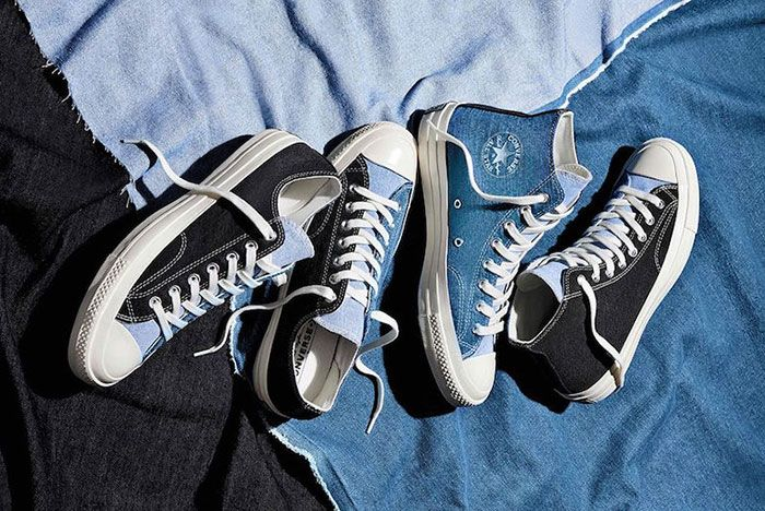 Converse Chuck 70 Renew Denim Split Pack Top Full