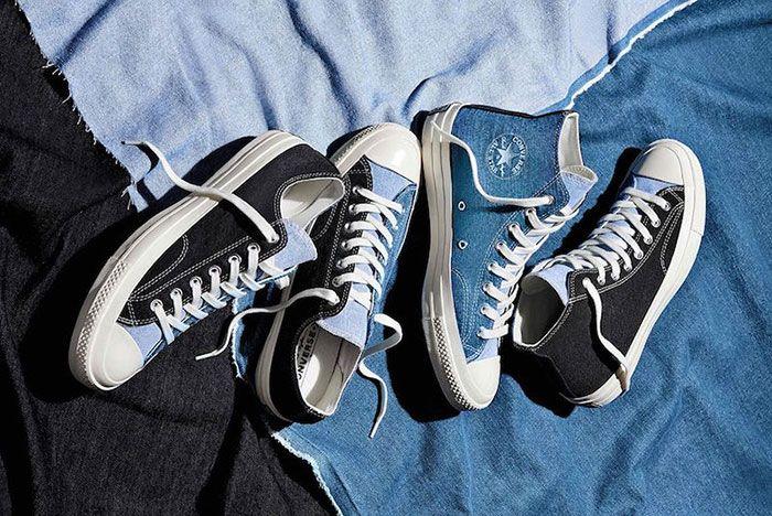 Converse Chuck 70 Renew Denim Split Pack Top Full